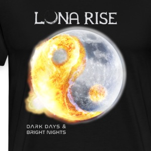 Luna Rise - Dark Days & Bright Nights Langarmshirts - Männer Premium T-Shirt