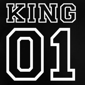PARTNERSHIRT - KING 01 Shirts - Baby T-Shirt