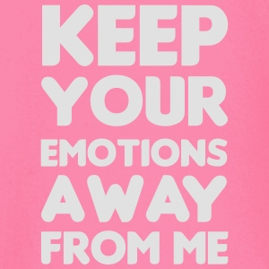 Keep your emotions away Topper - Langarmet baby-T-skjorte