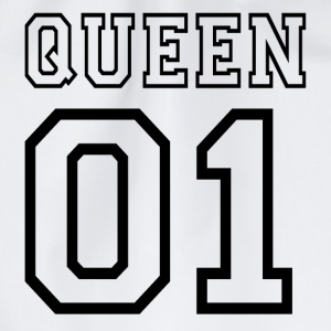 quePARTNERSHIRT - Queen 01 T-shirts - Sportstaske