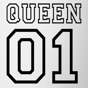 quePARTNERSHIRT - Queen 01 Sudaderas - Taza