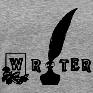 Writer Tops - Men's Premium T-Shirt