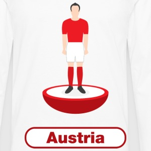 Austria football  - Men's Premium Longsleeve Shirt