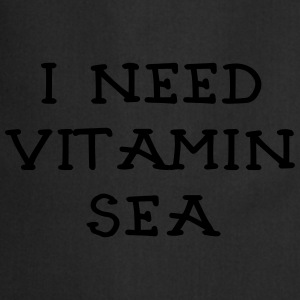 I NEED VITAMIN SEA_v2 T-Shirts - Kochschürze