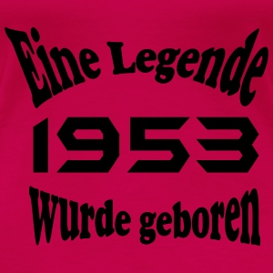 Legende 1953 Tops - Frauen Premium T-Shirt