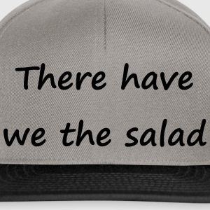 Denglisch - There have we the salad - Snapback Cap
