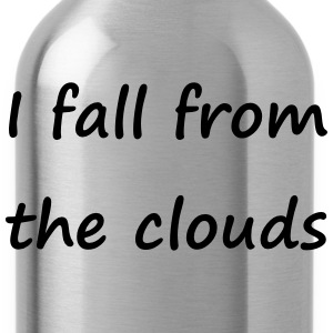 Denglisch - I fall from the clouds - Trinkflasche