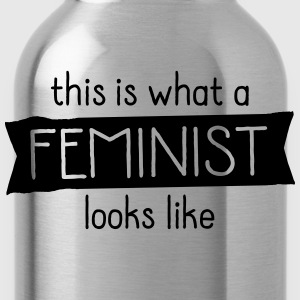 This Is What A Feminist Looks Like Sportbekleidung - Trinkflasche