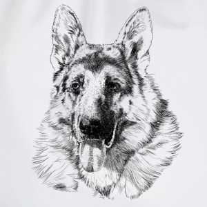 German shepherd Tee shirts - Sac de sport léger