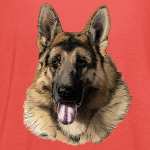 German shepherd Koszulki - Tank top damski Bella