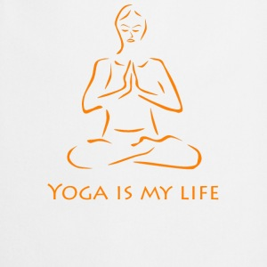 Yoga is my life - Kochschürze