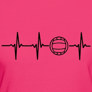 My heart beats for volleyball! Bags & Backpacks - Women's Organic T-shirt