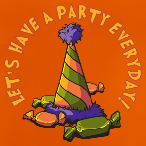 lets_have_a_party_everyday_05201601 T-Shirts - Baby T-Shirt