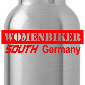 Womenbiker south Germany T-Shirts - Trinkflasche