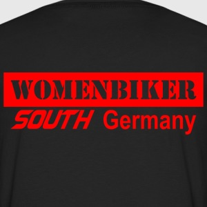 Womenbiker south Germany T-Shirts - Männer Premium Langarmshirt