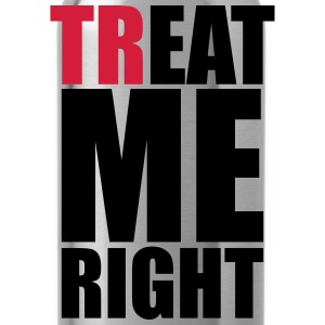 trEAT me right Sports wear - Water Bottle