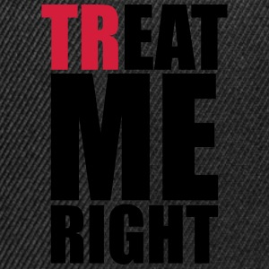 trEAT me right Sports wear - Snapback Cap