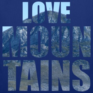Love Mountains Tee shirts - Tote Bag