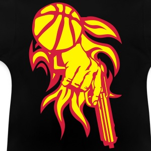 basketball pistole revolver club T-Shirts - Baby T-Shirt