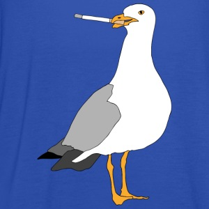 Smoking seagull - Women's Tank Top by Bella