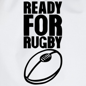 ready for rugby ball bereit fuer die rug T-Shirts - Turnbeutel