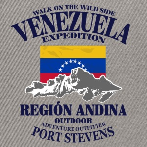 Venezuela - Flag & Mountains Sweat-shirts - Casquette snapback