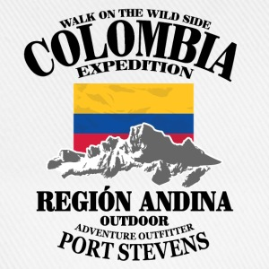 Columbia - Flag & Mountains Pullover & Hoodies - Baseballkappe
