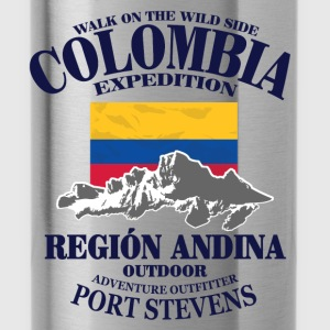 Columbia - Flag & Mountains Sweaters - Drinkfles