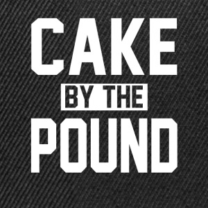 CAKE BY THE POUND T-Shirts - Snapback Cap