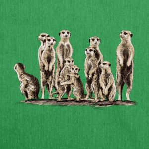 Meerkats T-Shirts - Shoulder Bag made from recycled material