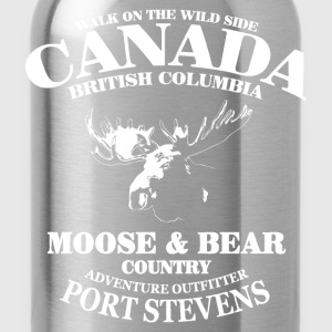 Moose - Canada T-Shirts - Water Bottle