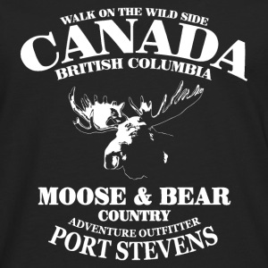 Moose - Canada Hoodies & Sweatshirts - Men's Premium Longsleeve Shirt