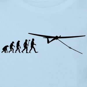 evolution segelfliegen Baby Bodys - Kinder Bio-T-Shirt