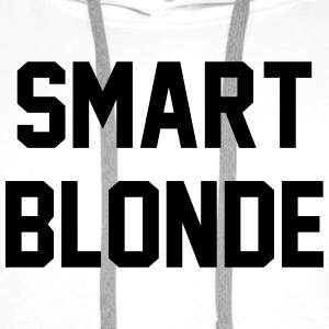 Smart blonde T-Shirts - Men's Premium Hoodie