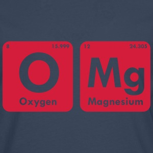 OMG PERIODIC TABLE MEN T-SHIRT - Men's Premium Longsleeve Shirt