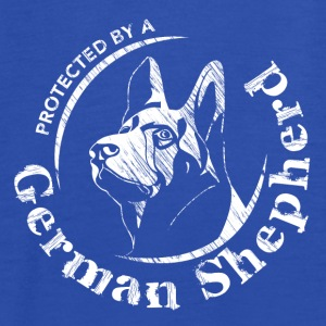 Protected by a German Shepherd - Women's Tank Top by Bella