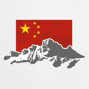 China - Flag & Mountains Pullover & Hoodies - Kochschürze