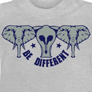 be different elephant anders elefant 9 T-Shirts - Baby T-Shirt