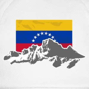 Venezuela - Mountains & Flag T-shirts - Baseballcap