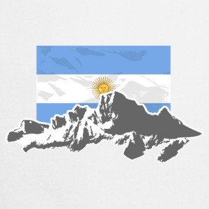 Argentina - Mountains & Flag Sweat-shirts - Tablier de cuisine