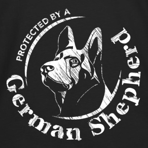 Protected by a German Shepherd - Men's Premium Longsleeve Shirt