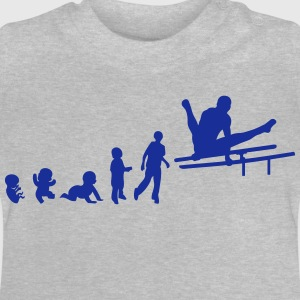 evolution parallel bar gymnastik adult T-Shirts - Baby T-Shirt