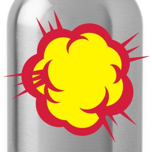 1103 explosion 0 Langarmshirts - Trinkflasche