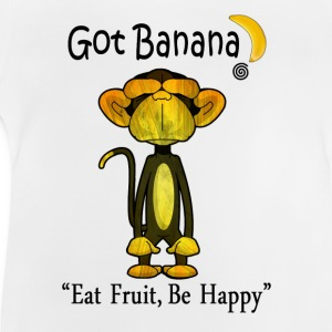 Happy Monkey - Baby T-Shirt