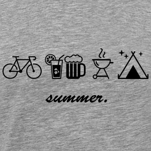summer. - Men's Premium T-Shirt