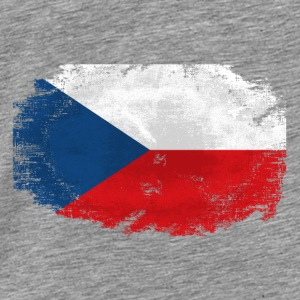 Czech Republic Flag Pullover & Hoodies - Männer Premium T-Shirt