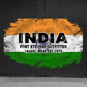 India Flag - Vintage Look T-Shirts - Snapback Cap