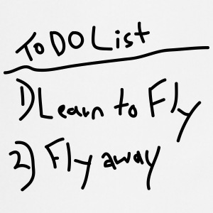 To do List T-Shirts - Kochschürze