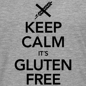 Keep Calm It´s Gluten Free T-skjorter - Premium langermet T-skjorte for menn