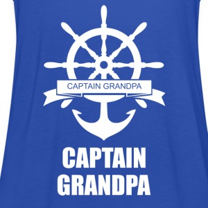 Captain Grandpa T-Shirts - Women's Tank Top by Bella